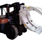 Anexos de empilhadeira 360 braçadeiras de rolo de papel único Braço de rotação