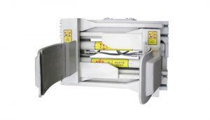 Forklfit Attachment Steel White Braçadeira de Tambor de Empilhadeira de 55 Galões