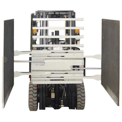 Classe 3 da braçadeira da caixa do acessório do Forklift & tamanho de 1220 * 1420 milímetros do braço