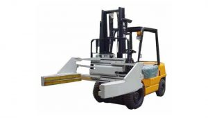 Braçadeiras do bloco da empilhadeira ou braçadeiras não deslocáveis do bloco da empilhadeira 2.5t das braçadeiras do tijolo