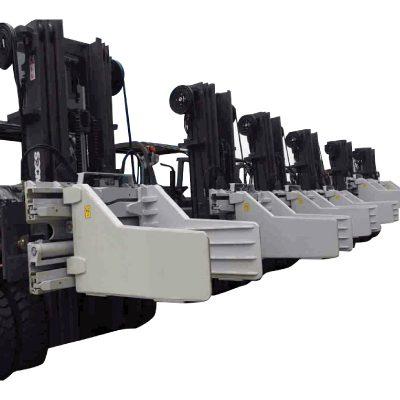 2.7 toneladas de acessórios de fixação de fardos de empilhadeira