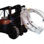 Braçadeira de rolo de papel giratório de fixação de empilhadeira classe 2