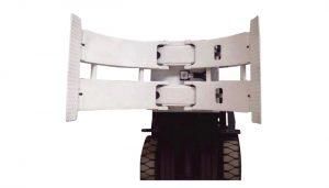 Equipamento de manuseio de materiais 2ton TB série rolo empilhador manual de paletes empilhador de paletes Paper roll clamp folder