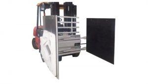 Braçadeira da caixa para o caminhão de empilhadeira, braçadeira da caixa do acessório da empilhadeira, alimentador da caixa.