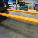 Extensões de garfo de empilhadeira para serviço pesado osha