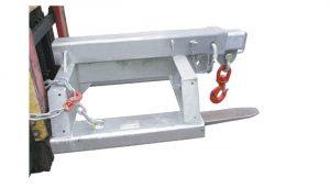 Heavy duty tipo SFJL7.5 garfo montado acessório de patíbulo da empilhadeira para venda