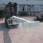 Manipulador de vidro de implementos de empilhadeira hidráulica