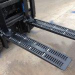 Garfos de roda de empilhadeira tipo WF2A1100 para venda
