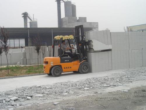 Forklift Cement Block Clamp