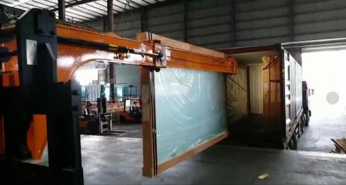 Hydraulic Glass Handler