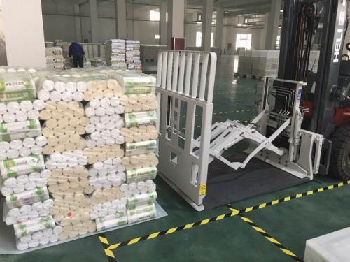 Pull Push Forklift Attachment Handling Noodle